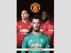Manchester United FC A3 Calendar 2019 Calendar Club UK