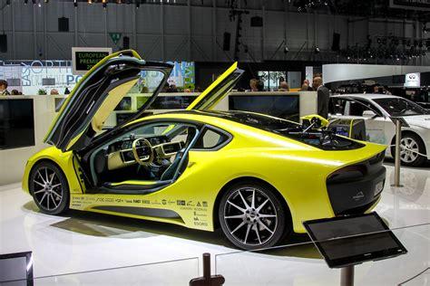 Rinspeed Etos was shown at the Geneva Motor Show 2016