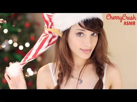 Holiday Tingle Words  Asmr  Soft Spoken  Cherrycrush Wixper