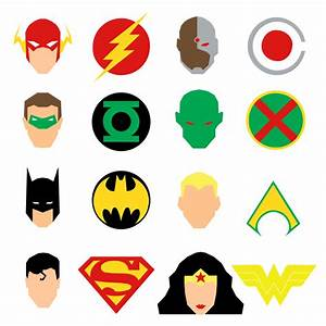 Justice League Icons by mattmagargee on DeviantArt