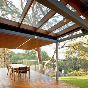 Terrassenüberdachung Glas Stahl : terrassenuberdachung holz konstruktion ~ Articles-book.com Haus und Dekorationen
