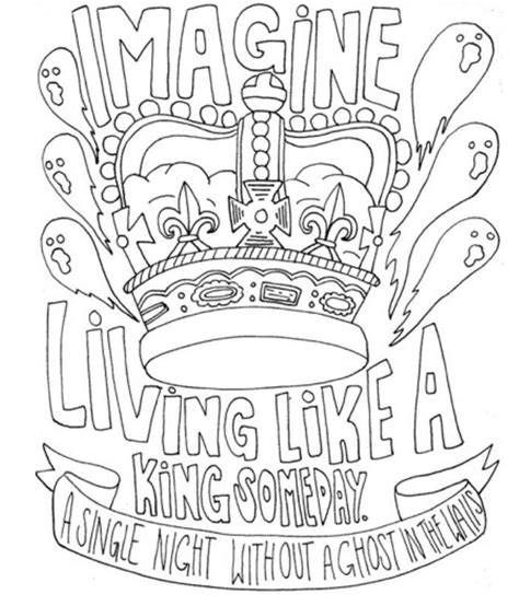 Coloring Song by I Draw Band Lyrics Coloring Pages Band