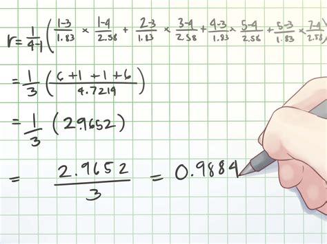 trovare il coefficiente  correlazione wikihow