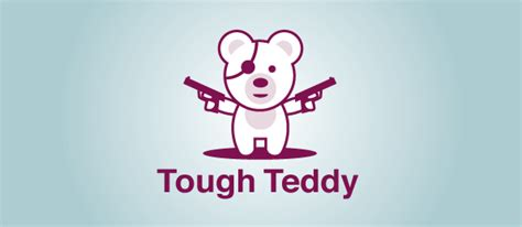 Cool Teddy Bear Logo For Free Download