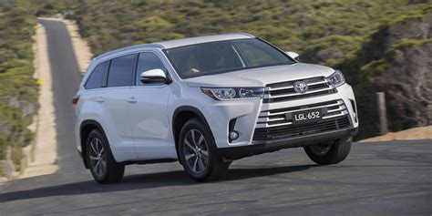 Toyota Car : 2018 Toyota Kluger Pricing And Specs