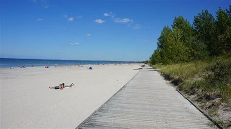 Boardwalk From Beach #2 To Beach #1  Picture Of Wasaga