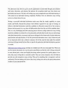 nursing entrance essay