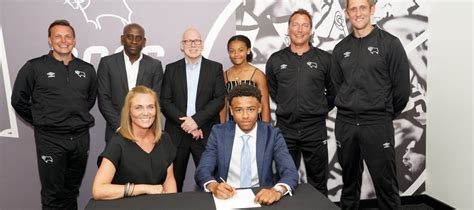 Pupil Signs for Derby County Football Club - Attain