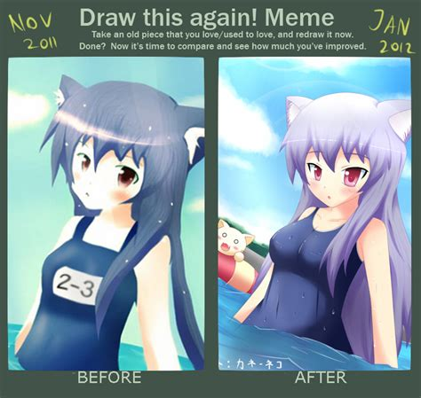 Meme And Neko - improvement meme swimming by kane neko on deviantart