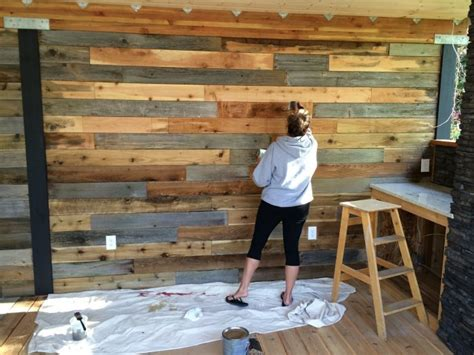 Diy Wall Decor, How To Make A Feature Wall With Your Fence