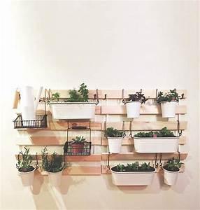 Mur Végétal Intérieur Ikea : 8 fa ons g niales de r utiliser les lattes de bois suldan ~ Dailycaller-alerts.com Idées de Décoration