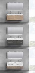 Doppelwaschbecken Mit Unterschrank Und Spiegelschrank : badm bel set doppelwaschbecken 160 cm mit unterschrank ~ Watch28wear.com Haus und Dekorationen