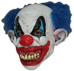 Halloween Half Masks Sale by Masque Clown Mal 233 Fique Masque Effrayant En Latex