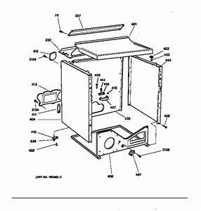 Cabinet Diagram  U0026 Parts List For Model Dbxr453et2aa Ge