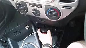 Upgrade  Retrofit Of Usb Ipod Aux Connector To Hyundai I20