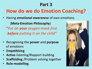 Session 3 Emotion Coaching Strategies
