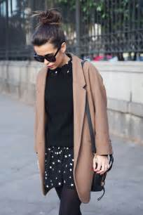Camel Black Coat