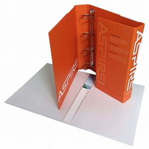 ring binder folders storage boxes duncan packaging With printed document folder