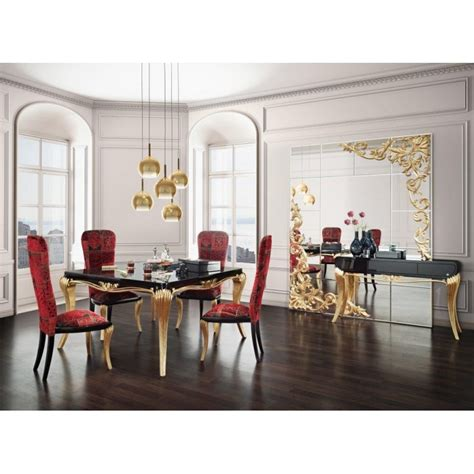 salle 224 manger de luxe 1900 console et miroir