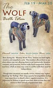 Native American Wolf Symbolism - Birth Totem Animal ...