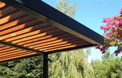 ipe pergola sun  weather resistant modern