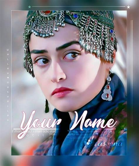 She made her debut with her role as halime name: Turkish Girl Esra Bilgic Name Wallpaper And DP From Ertugrul