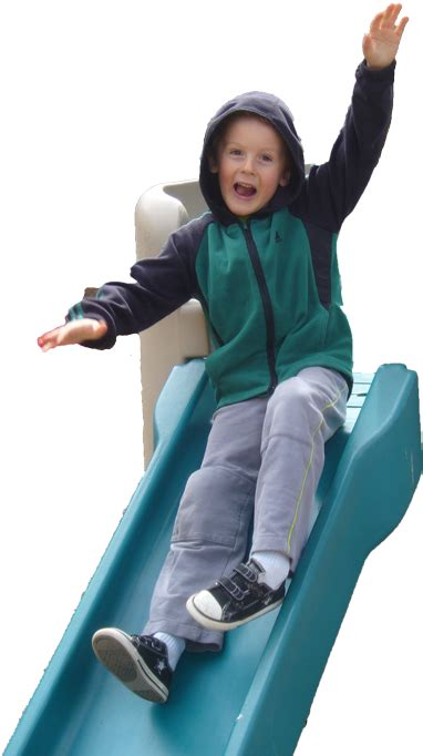preschool in bend oregon mudpies and lullabies preschool 817 | boy on slide