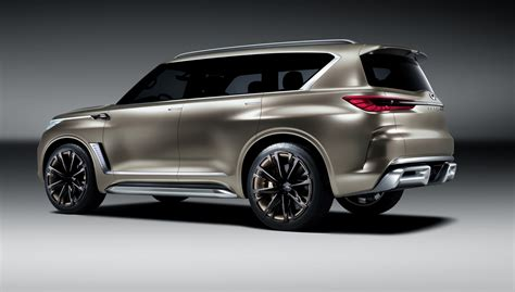 infiniti qx monograph concept revealed update