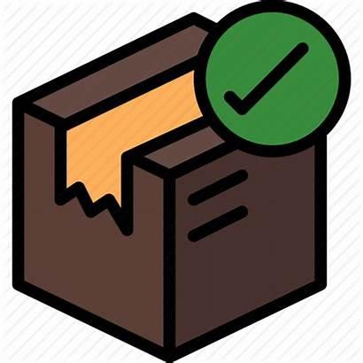 Package Delivery Delivered Icon Parcel Shipping Undelivered