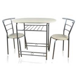 Table 2 Chairs by Home Accessories Honeymoon 90cm Dining Table With 2 Chairs