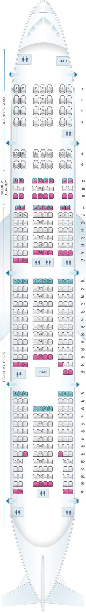 plan si es boeing 777 300er air mapa de asientos air boeing b777 300 haul