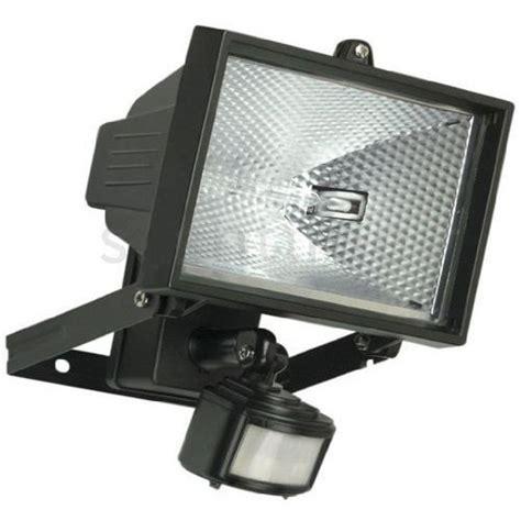 exterior flood lights motion sensor 150w sensor light security watt floodlight outdoor halogen