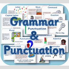 Grammar & Punctuation Posters Ks1 Pdf English Teaching Resources Display On Cd Ebay