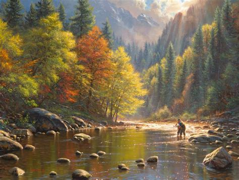 pin  parsons gallery  thomas kinkade fine art