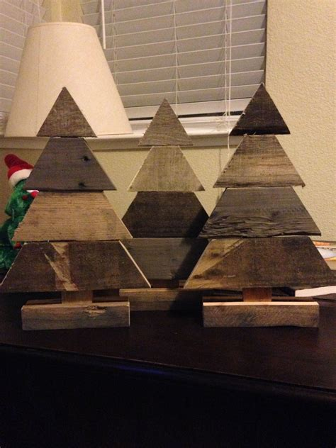 small pallet wood christmas trees pallet wood christmas