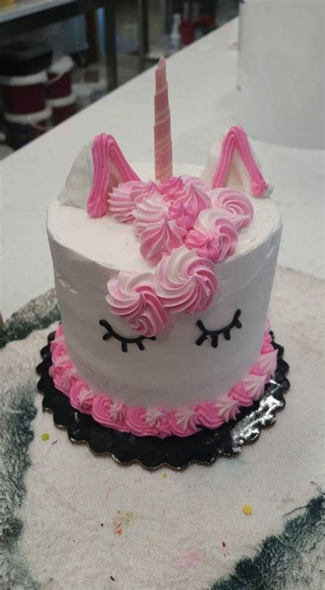small unicorn cake cakecentralcom