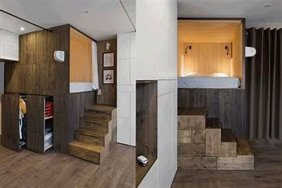 Apartment Tiny Storage Built Solutions Caption Optional