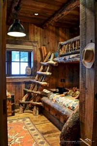 15, Innovative, Log, Cabin, Themed, Bedroom, For, Kids