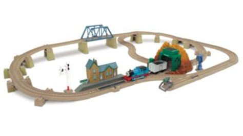 Tidmouth Sheds Trackmaster Asda by Trackmaster Tomy The Tank Engine At Echo Cave Set
