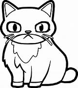 Coloring Cat Angry Grumpy Printable Getdrawings Amazing Sheets Getcolorings Outline Wecoloringpage sketch template