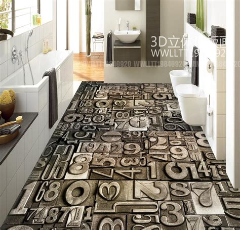 floor painting wallpaper vintage stone digital modern