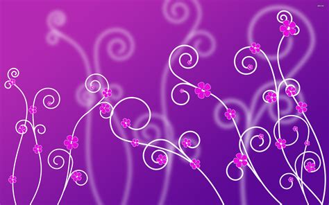 Thumb Image - Purple Cave Flower Background - 2560x1600 ...