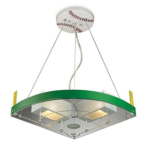 baseball light fixture elk lighting novelty 2 light baseball field pendant in