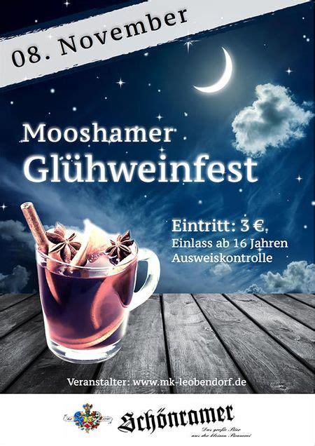 gluehweinfestl  moosham termin berchtesgaden bad