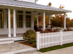 Covered Porches with Metal Roofs