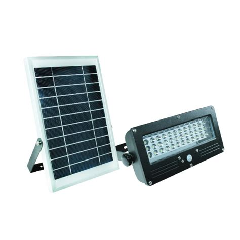 acdc solar pir security light 7w with solar panel
