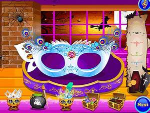 Play Halloween Mask Salon Game Online