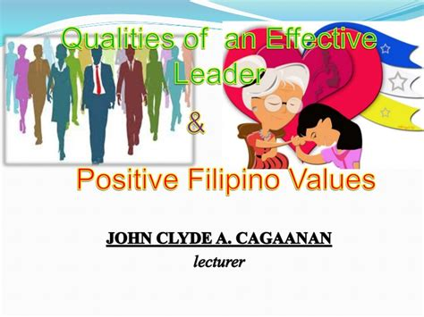 qualities   good leader  filipino values