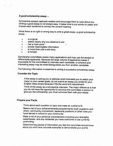 Essay College Scholarships Short Personal Statement Examples No   No Essay College Scholarship Lit Review Dissertation