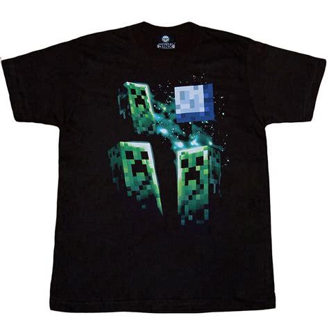 minecraft shirts minecraft  creeper moon youth kids  shirt